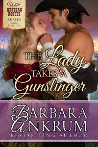 The lady takes a gunslinger